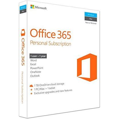 Picture of Microsoft Office 365 Personal 32/64-Bit (Key Card)