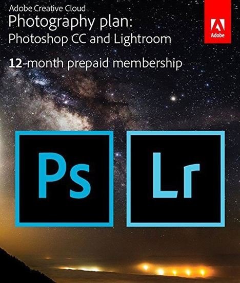 Picture of Adobe Creative Cloud Photography plan (Photoshop CC + Lightroom)